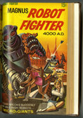 Silver Age (1956-1969):Science Fiction, Magnus Robot Fighter #1-28 Partial Issues Bound Volume (Gold Key, 1963-69)....