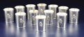 Silver & Vertu:Hollowware, A Set of Twelve American Silver Mint Julep Cups. William Trees, American . 20th century. Silver. Marks: (tree), TREES, S... (Total: 12 Items)