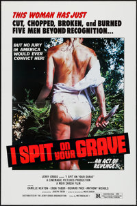 "I Spit on Your Grave (Jerry Gross Organization, R-1980). One Sheet (27"" X 41""). Horror"