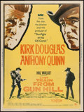 """Movie Posters:Western, Last Train from Gun Hill (Paramount, 1959). Poster (30"""" X 40"""") Style Z. Western.. ..."""
