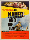 "Movie Posters:War, The Naked and The Dead (RKO, 1958). Posters (2) (30"" X 40"") StylesY & Z. War.. ... (Total: 2 Items)"