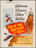 """Movie Posters:Mystery, Stop Me Before I Kill! & Other Lot (Columbia, 1961). Posters(2) (30"""" X 40""""). Mystery.. ... (Total: 2 Items)"""