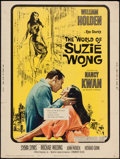 "Movie Posters:Romance, The World of Suzie Wong (Paramount, 1960). Poster (30"" X 40""). Romance.. ..."