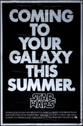 """Movie Posters:Science Fiction, Star Wars (20th Century Fox, 1976). One Sheet (27"""" X 41"""") Mylar Advance. Science Fiction.. ..."""