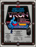 """Movie Posters:Science Fiction, Tron (Bally Family Amusement Centers, 1981). Promotional Poster(27"""" X 35.5""""). Science Fiction.. ..."""