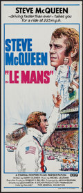 "Movie Posters:Sports, Le Mans (BEF, 1971). Australian Daybill (13"" X 30""). Sports.. ..."