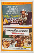 "Movie Posters:Adventure, The Far Country/Saskatchewan Combo (Universal, R-1962). One Sheet(27"" X 41""). Adventure.. ..."