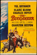 "Movie Posters:Adventure, The Buccaneer (Paramount, 1958). Trimmed Poster (26.75"" X 40"").Adventure.. ..."