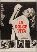 """Movie Posters:Foreign, La Dolce Vita (Astor, 1961). Trimmed Poster (28.25"""" X 40""""). Foreign.. ..."""