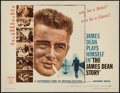 "Movie Posters:Documentary, The James Dean Story (Warner Brothers, 1957). Half Sheet (22"" X 28""). Documentary.. ..."