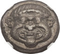 Ancients:Greek, Ancients: MACEDON. Neapolis. Ca. 525-480 BC. AR stater (20mm, 8.27gm). ...