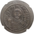 Ancients:Byzantine, Ancients: Justinian I the Great (AD 527-565). Æ follis (42mm, 21.75gm, 6h). ...