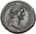 Ancients:Roman Imperial, Ancients: Domitian (AD 81-96). Æ as (29mm, 14.83 gm, 6h). ...