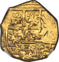 Colombia, Colombia: Charles II (posthumous) gold Cob 2 Escudos ND (1700-1709) MS63 NGC,...