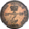 British West Indies, British West Indies: British Colony - George IV Proof 1/4 Dollar1820 PR61 NGC,...