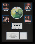 Music Memorabilia:Awards, Beatles Live at the BBC RIAA Multi-Platinum Record Award(Apple/Capitol 31796, 1994)....