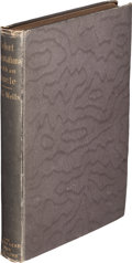 Books:Philosophy, H. G. Wells. Select Conversations with an Uncle (Now Extinct). And Two Other Reminiscences. London: John Lane, 1...