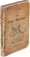 Books:Science Fiction & Fantasy, H. G. Wells. The Time Machine. An Invention. London: WilliamHeinemann, 1895. ...
