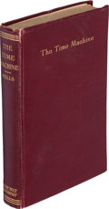 Books:Science Fiction & Fantasy, H. G. Wells. The Time Machine. An Invention. New York: Henry Holt, [circa 1895]. ...