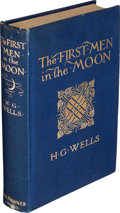 Books:Science Fiction & Fantasy, H. G. Wells. The First Men in the Moon. London: GeorgeNewnes, 1901....