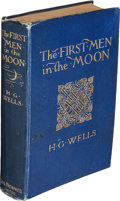 Books:Science Fiction & Fantasy, H. G. Wells. The First Men in the Moon. London: George Newnes, 1901....