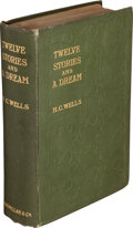 Books:Science Fiction & Fantasy, H. G. Wells. Twelve Stories and a Dream. London: Macmillan and Co., 1903....