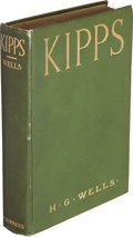 Books:Science Fiction & Fantasy, H. G. Wells. Kipps. The Story of a Simple Soul. New York: Charles Scribner's Sons, 1905....