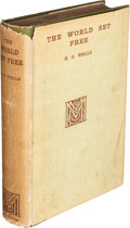 Books:Science Fiction & Fantasy, H. G. Wells. The World Set Free. A Story of Mankind.London: Macmillan and Co., 1914....