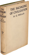 Books:World History, H. G. Wells. The Salvaging of Civilization. London: Casselland Company, 1921. ...