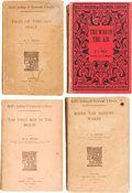 Books:Literature 1900-up, H. G. Wells. Group of Four Bell's Indian & Colonial LibraryEdition Books. Published in London and Bombay by George Bell and...(Total: 4 Items)