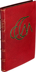 Books:Literature Pre-1900, Charles Cowden Clarke. Carmina Minima. [London]: Simpkin,Marshall, & Co., 1859. [bound with:] Mary Cowden Clarke.The...