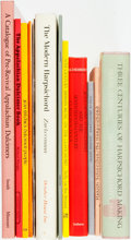 Books:Music & Sheet Music, [Music] Group of Twelve Publications on Harpsichords, Dulcimers and Clavichords. Various publishers and dates. Very good. ... (Total: 12 Items)