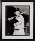 "Baseball Collectibles:Photos, 1990's Mickey Mantle Signed Oversized Photograph with ""1951""Inscription. ..."