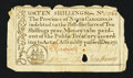 Colonial Notes:North Carolina, North Carolina December, 1771 10s Very Fine.. ...