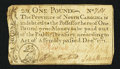 Colonial Notes:North Carolina, North Carolina December, 1771 £1 Fine.. ...