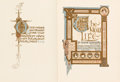Books:Literature 1900-up, [Illumination] Dante Alighieri. The New Life. Translated byDante Gabriel Rossetti. Illustrations by Evelyn Paul...