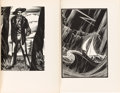 Books:Literature 1900-up, Lynd Ward. Mad Man's Drum. [and:] God's Man. NewYork: Jonathan Cape and Harrison Smith, [1930, 1929]. Mad...(Total: 2 Items)