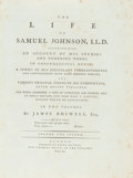 Books:Biography & Memoir, James Boswell. The Life of Samuel Johnson, LL.D... London:Printed by Henry Baldwin, for Charles Dilly, in the Poult...(Total: 2 Items)