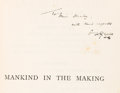 Books:Science Fiction & Fantasy, H. G. Wells. INSCRIBED. Mankind in the Making. London:Chapman & Hall, 1903. ...
