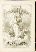 Books:Americana & American History, [Civil War] Harper's Pictorial History of the Great Rebellion,Part Second. Chicago: McDonnell Bros, [1868]. Volume ...