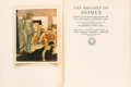 Books:Literature Pre-1900, [W. Russell Flint, illustrator]. HOMER. The Odyssey ofHomer. London & Boston: The Medici Society, 1924. Donein...