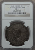 Mexico, Mexico: Revolutionary. Chilpanzingos Counterstamped 8 Reales ND(1812-1815) VG8 NGC,...