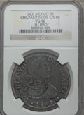 Mexico, Mexico: Revolutionary. Chilpanzingos Counterstamped 8 Reales ND(1811-1815) VG10 NGC,...