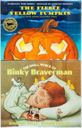 Books:Children's Books, Richard Egielski, illustrator. Pair of SIGNED First Editions.Various publishers and dates. The Small World of Binky Brave...(Total: 2 Items)