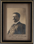 Autographs:U.S. Presidents, Theodore Roosevelt Signed Photograph...