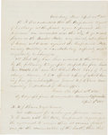 Autographs:Military Figures, [Exchange of Prisoners at Vicksburg]. Fair Copy of Union GeneralNapoleon J. T. Dana Orders Detailing the Exchange of Prisoner...