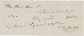 Autographs:Celebrities, Cornelius Vanderbilt Autograph Document Signed....