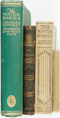 Books:Literature 1900-up, Charles Kingsley. The Water Babies. Group of Four Editions.Includes the first edition (London: Macmillan, 1863)... (Total: 4Items)