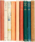 "Books:Children's Books, A. A. Milne. Group of Nine Books. Includes a complete set of the""Pooh"" books (later, though early, editions) ad well as a f...(Total: 9 Items)"