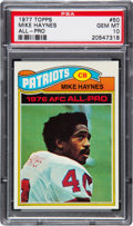 Football Cards:Singles (1970-Now), 1977 Topps Mike Haynes #50 PSA Gem Mint 10. ...